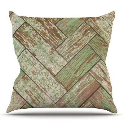 Patina by Heidi Jennings Outdoor Throw Pillow