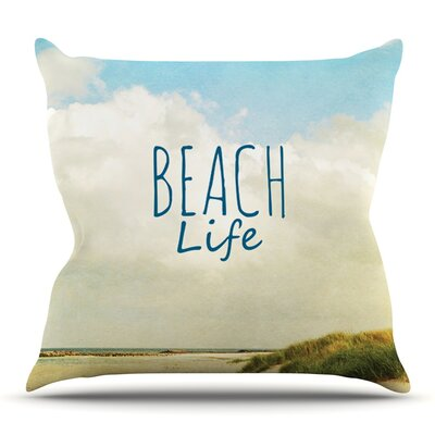 Beach Life by Iris Lehnhardt Outdoor Throw Pillow
