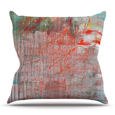Mots de La Terre by Iris Lehnhardt Outdoor Throw Pillow