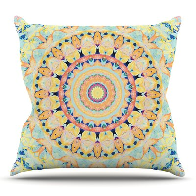 Flourish by Iris Lehnhardt Outdoor Throw Pillow