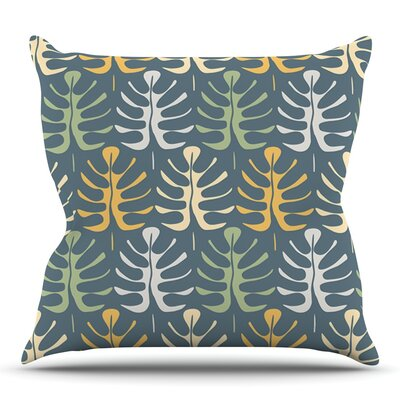My Leaves by Julia Grifol Outdoor Throw Pillow