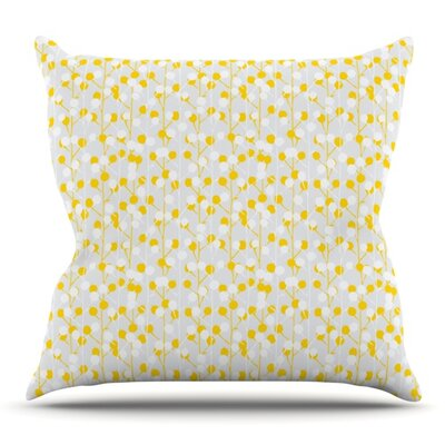 Lemon Drop by Julie Hamilton Outdoor Throw Pillow