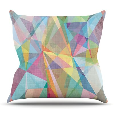 Graphic 32 by Mareike Boehmer Outdoor Throw Pillow