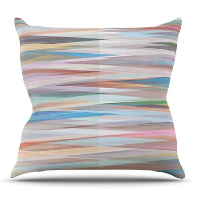 Nordic Combination II by Mareike Boehmer Outdoor Throw Pillow