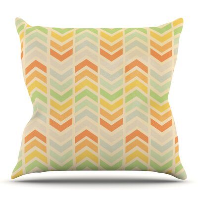 Infinity by Skye Zambrana Outdoor Throw Pillow