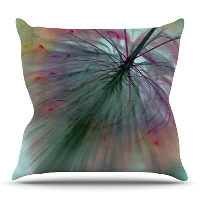 Fleur by Alison Coxon Outdoor Throw Pillow