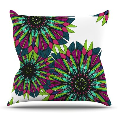 Bright by Alison Coxon Outdoor Throw Pillow