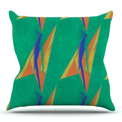 Deco Art by Alison Coxon Outdoor Throw Pillow
