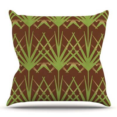 Choc by Alison Coxon Outdoor Throw Pillow