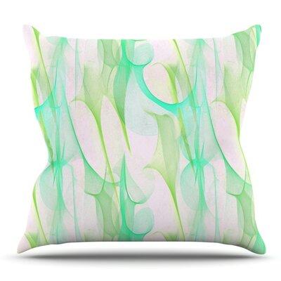 Swim II by Alison Coxon Outdoor Throw Pillow