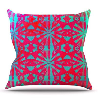 Aloha by Alison Coxon Outdoor Throw Pillow
