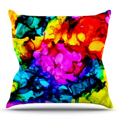 Sweet Sour by Claire Day Outdoor Throw Pillow