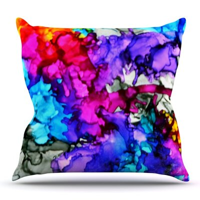 Indie Chic by Claire Day Outdoor Throw Pillow