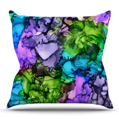 Cellar Door by Claire Day Outdoor Throw Pillow