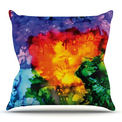 Karma by Claire Day Outdoor Throw Pillow
