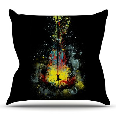 Midnight Syphony by Frederic Levy-Hadida Outdoor Throw Pillow