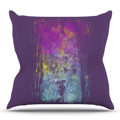 Rain by Frederic Levy-Hadida Outdoor Throw Pillow