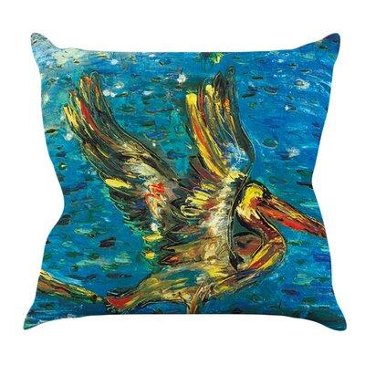 Seabirds by Josh Serafin Outdoor Throw Pillow
