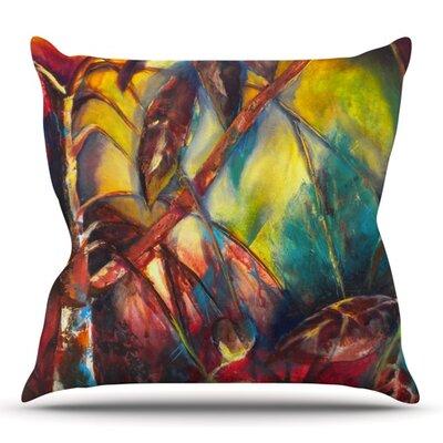 Growth by Kristin Humphrey Outdoor Throw Pillow