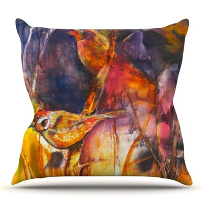 In Depth by Kristin Humphrey Outdoor Throw Pillow