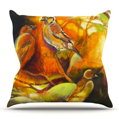 Reflecting Light by Kristin Humphrey Outdoor Throw Pillow
