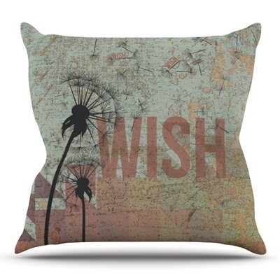 Wish Outdoor Throw Pillow