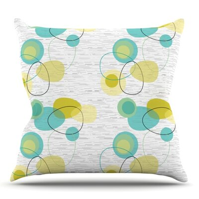 Vaniretro by Nina May Outdoor Throw Pillow