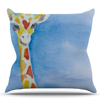 Topsy by Padgett Mason Outdoor Throw Pillow
