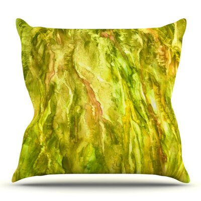 Tropical Delight by Rosie Brown Outdoor Throw Pillow