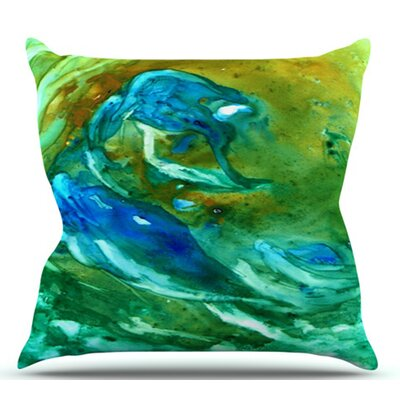 Hurricane by Rosie Brown Outdoor Throw Pillow