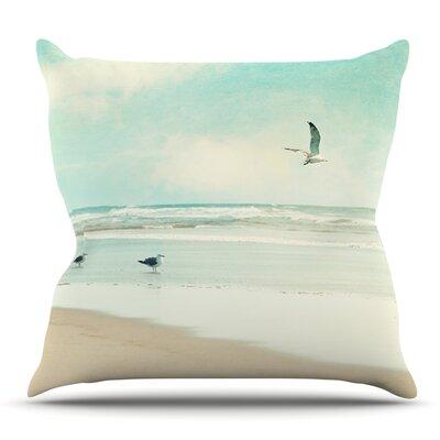Away We Go by Sylvia Cook Outdoor Throw Pillow