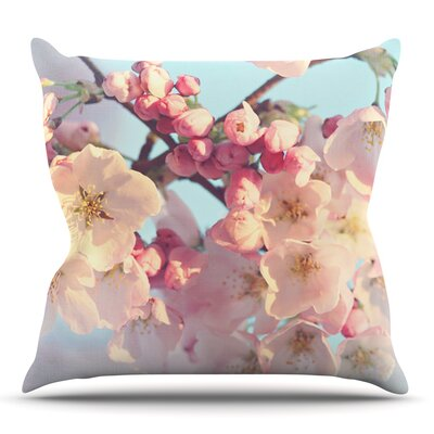 Waiting for Spring by Sylvia Cook Outdoor Throw Pillow