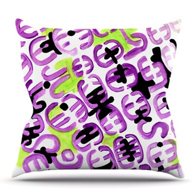 Theodoras Mood by Theresa Giolzetti Outdoor Throw Pillow
