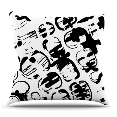 Theodoras Tantrum by Theresa Giolzetti Outdoor Throw Pillow