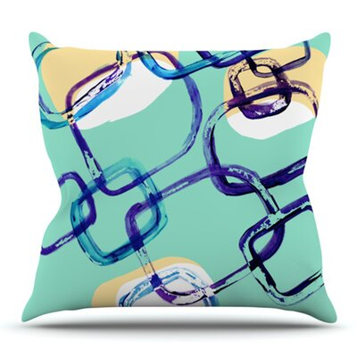 Sixties Exposure by Theresa Giolzetti Outdoor Throw Pillow