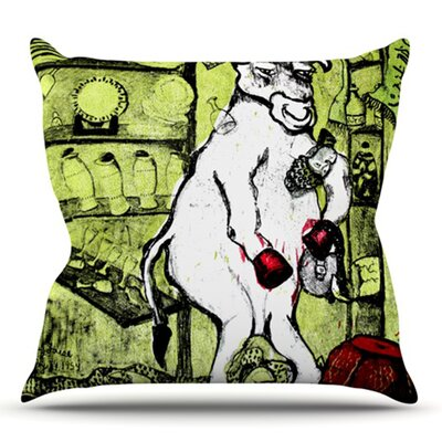 Taurus by Theresa Giolzetti Outdoor Throw Pillow