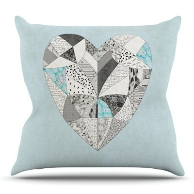 Comheartment by Vasare Nar Outdoor Throw Pillow