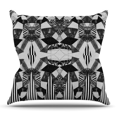 Tessellation by Vasare Nar Outdoor Throw Pillow