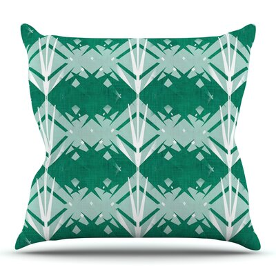Diamond by Alison Coxon Outdoor Throw Pillow