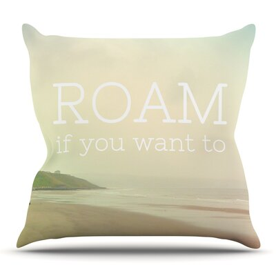 Roam by Alison Coxon Outdoor Throw Pillow