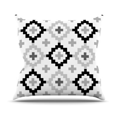 Moroccan Outdoor Throw Pillow