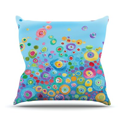 Circle Outdoor Throw Pillow