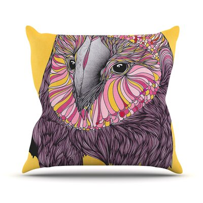 Owl Outdoor Throw Pillow