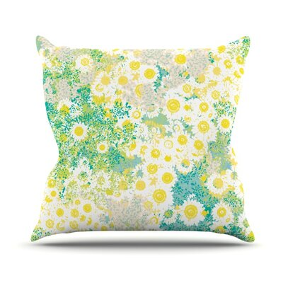 Myatts Meadow by Kathryn Pledger Outdoor Throw Pillow