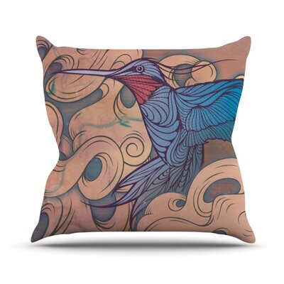 The Aerialist Outdoor Throw Pillow