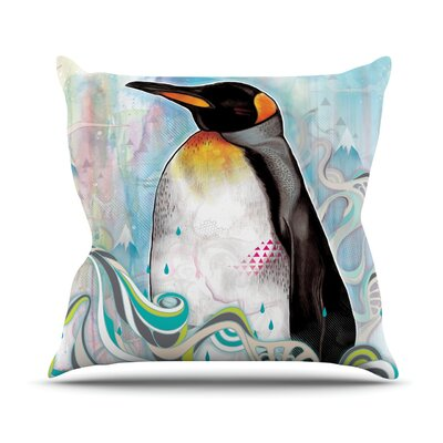 King by Mat Miller Outdoor Throw Pillow