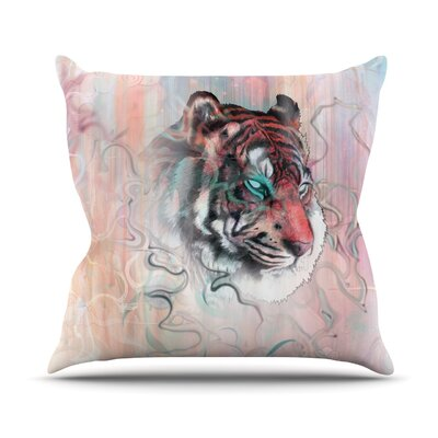 Illusive by Nature by Mat Miller Outdoor Throw Pillow