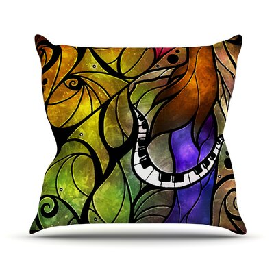 So This Is Love by Mandie Manzano Outdoor Throw Pillow