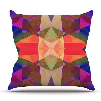 Irridesco by Nina May Outdoor Throw Pillow