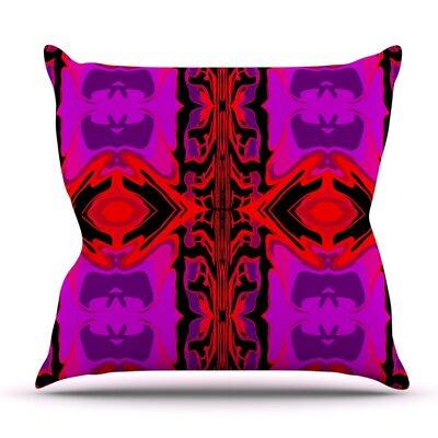 Ornamena by Nina May Outdoor Throw Pillow